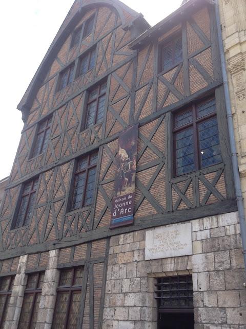 casa de Juana de Arco en Orléans