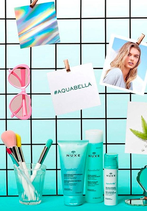 Aquabella, la nueva línea de NUXE para pieles mixtas