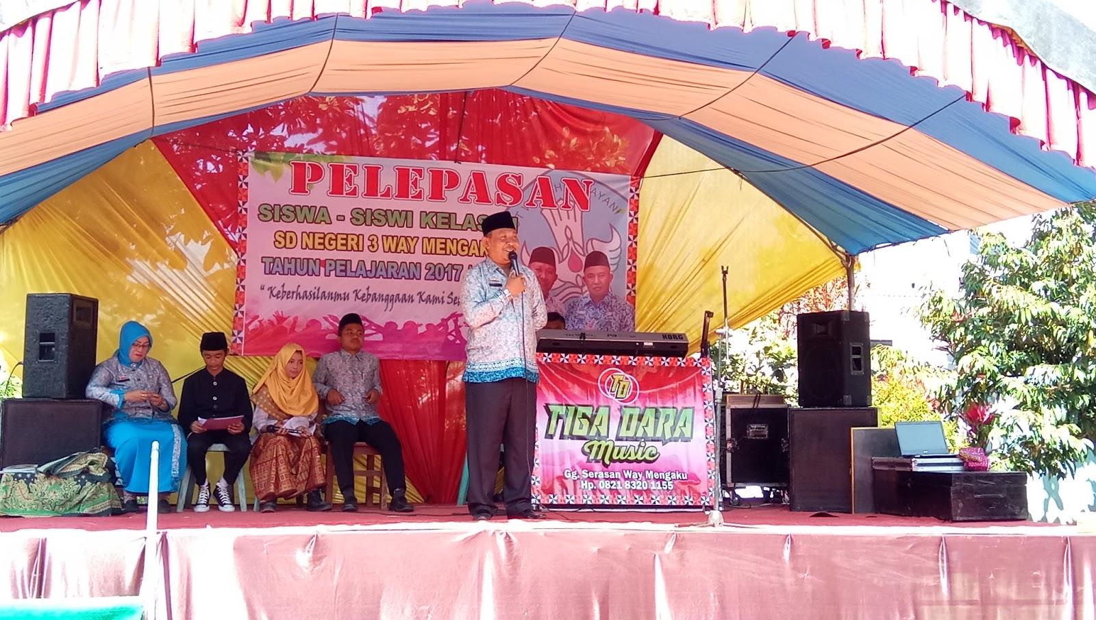 Meriah, SDN 3 Way Mengaku Lepas 60 Siswa Didik