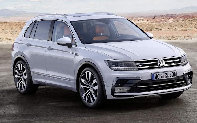 Nova VW Tiguan 2017: nota máxima no Euro NCAP - vídeo