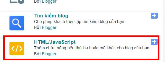 Cách Tạo Widget Các Trang Mạng Xã Hội Trên Blogger/Blogspot 22