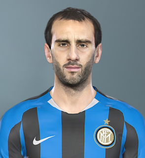 PES 2019 Faces Diego Godín by Sofyan Andri