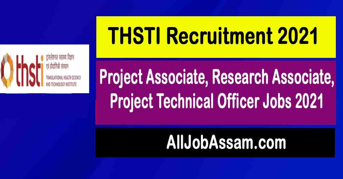 thsti-project-associate-research-associate-project-technical-officer-jobs-2021