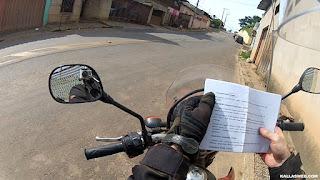 Procurando pontos de carimbo do passaporte da Estrada Real.