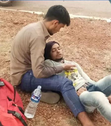 Lock Down one more accident clames lives of migrant laborers, Madhya pradesh, News, Facebook, Post, Gujarath, Hospital, Treatment, Dead, National