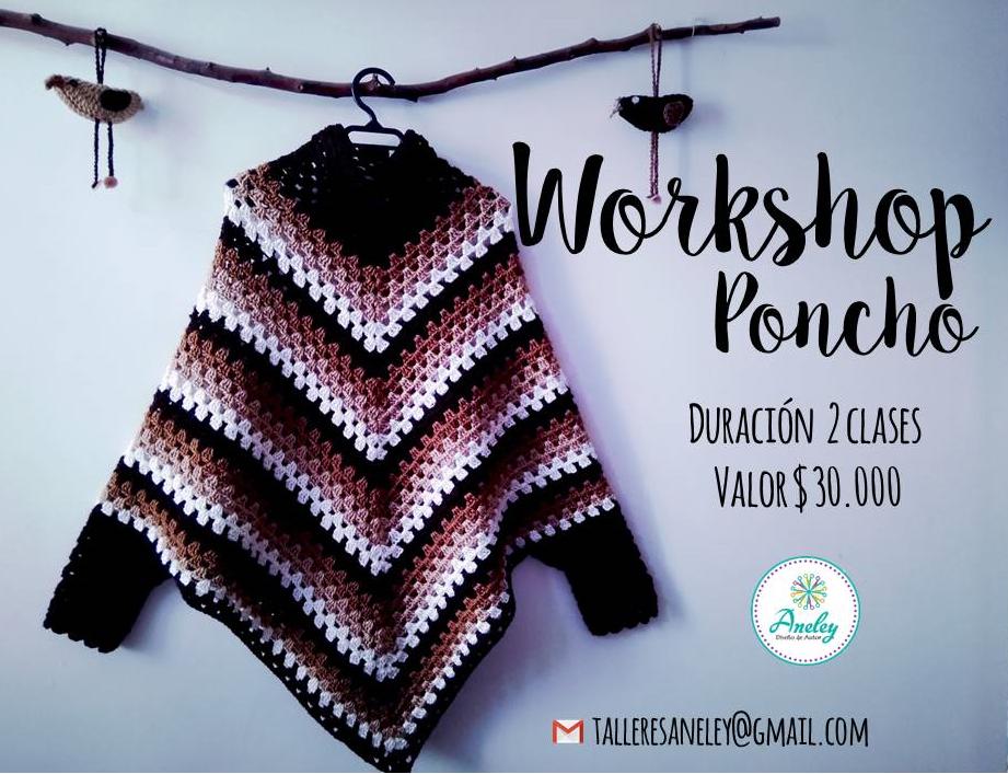 Talleres de Bordado y Crochet Creativo: Taller de Crochet Ponchos