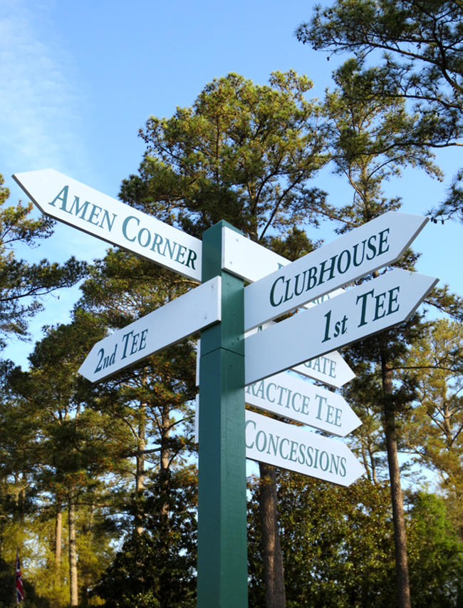 The Masters - Amen Corner // A Style Caddy