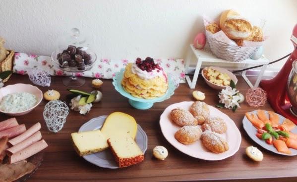 ostern osterbrunch dekoration foodblog fleurcoquet Brunch