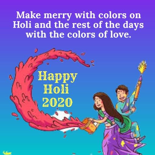 Holi Images 2020