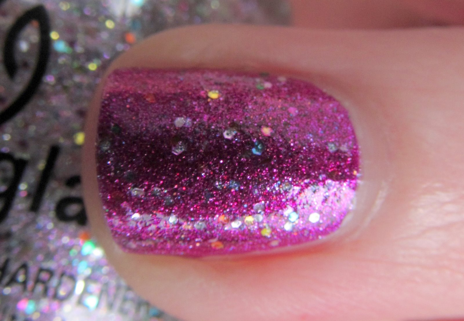 Kleancolor Metallic Fuchsia, China Glaze Full Spectrum