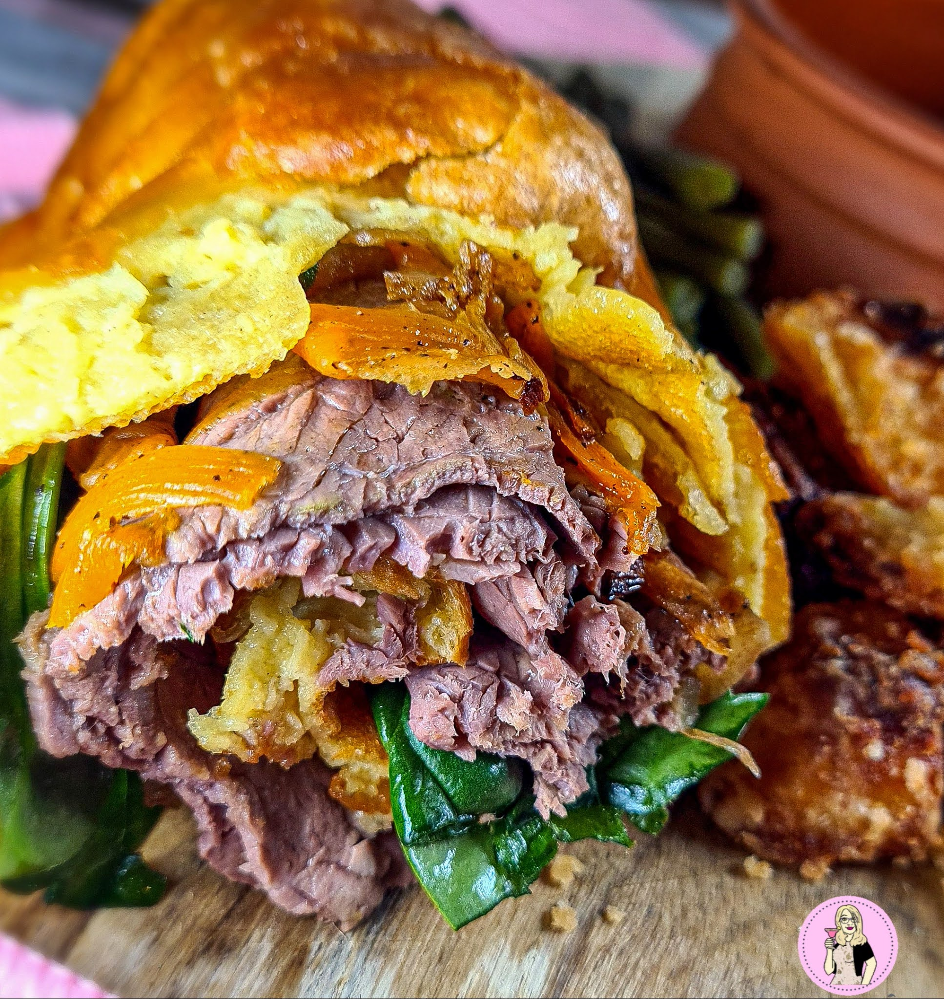 Beef Yorkshire Pudding Wrap Recipe   Slimming Friendly