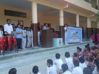 Mission Education Team of Dehradoon Placed a Drop Box at SGRR Public School Sahastradhara