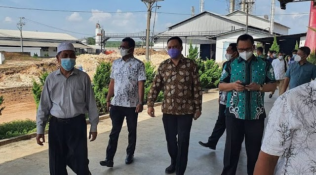 Harga Singkong Terjun Bebas, Anggota DPRD Lampung Dapil 8 Datangi Pabrik Singkong