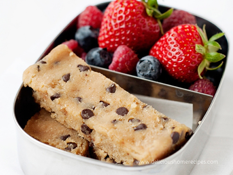 Bake Chocolate Chip Blondies