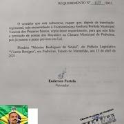 Vereador Enderson Portela apresenta requerimento de prestação de contas da Prefeitura de Pedreiras