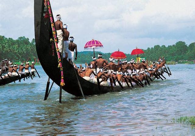 नेहरू ट्रॉफी नाव दौड़ चंपकुलम नौका दौड़ 11 अगस्त 2018 केरल