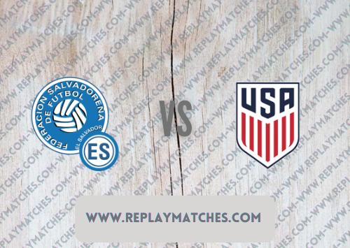 El Salvador vs United States -Highlights 03 September 2021