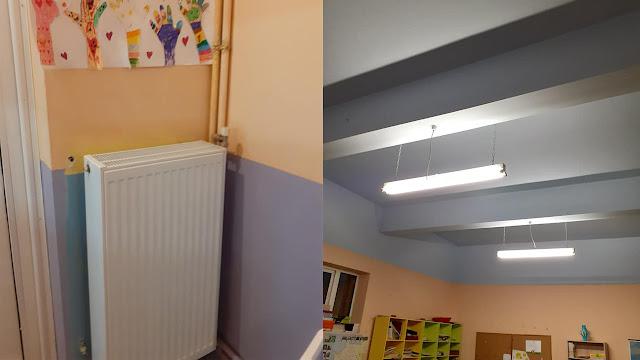 Αντικατάσταση καλοριφέρ και ηλεκτρικών εγκαταστάσεων στο Δημοτικό Σχολείο Ιρίων