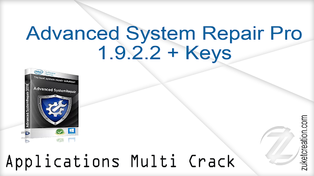 Advanced System Repair Pro 1.9.2.2 + Keys