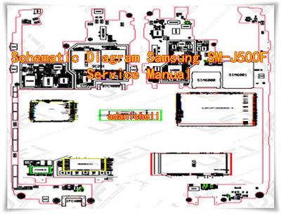 Schematic Diagram Samsung SM-J500F Service Manual