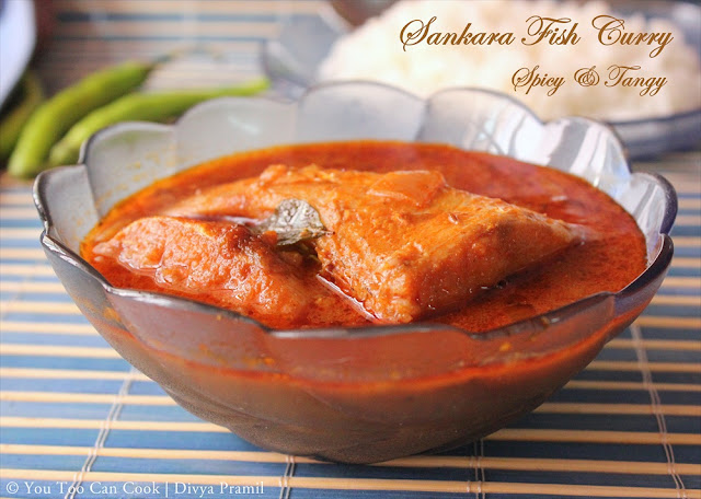 Spicy Tangy Red Snapper Curry