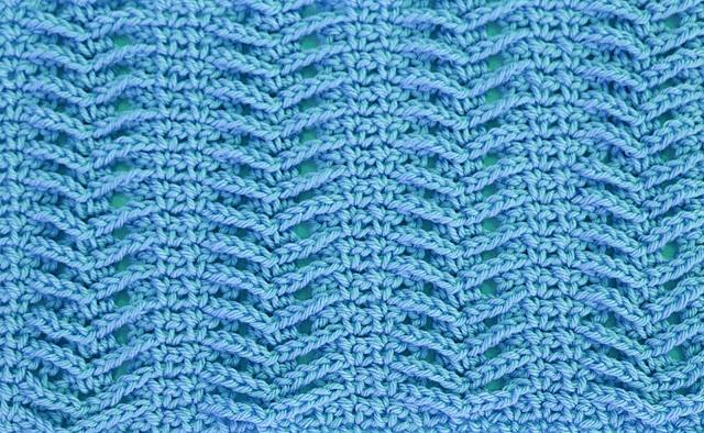 4-Imagenes Crochet Puntada de espiga a crochet y ganchillo por Majovel Crochet
