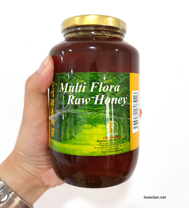 Meet Organic Multi Flora Raw Honey