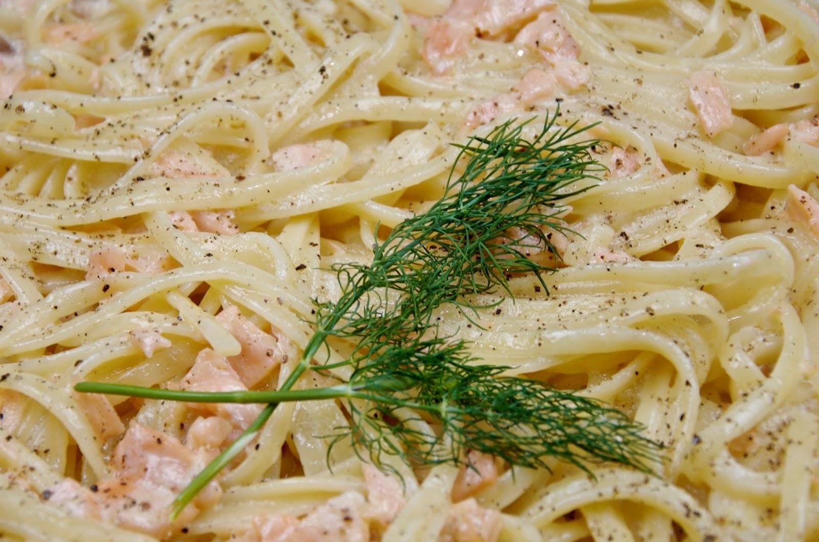 fish pasta