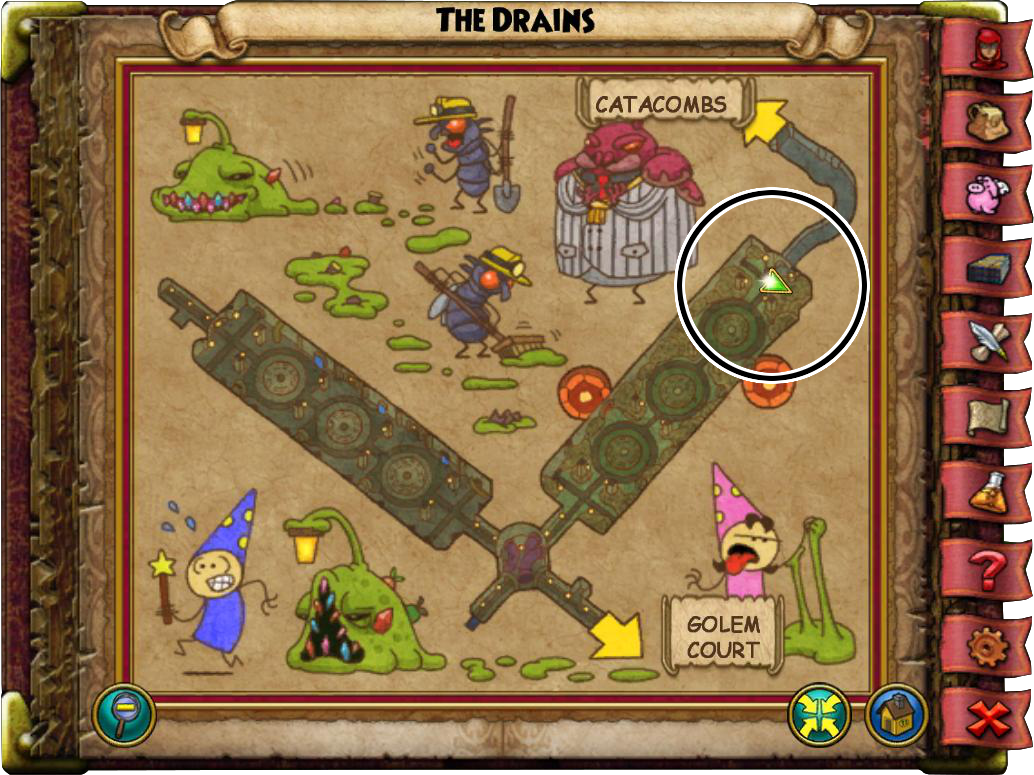 King Detritus Guide (Abandoned House) | Wizard101
