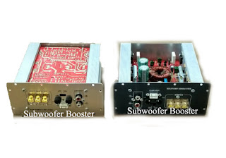 Kit Subwoofer booster circuit