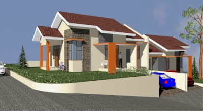 Rumah minimalis type 85