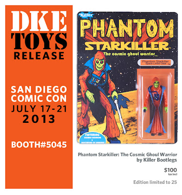 San Diego Comic-Con 2013 Exclusive Phantom Starkiller Bootleg Star Wars Resin Figure by Killer Bootlegs