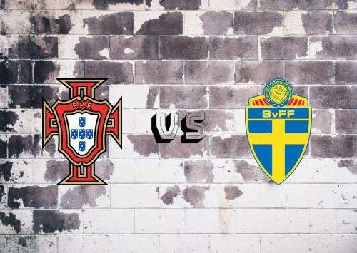 Portugal vs Suecia  Resumen y Partido Completo