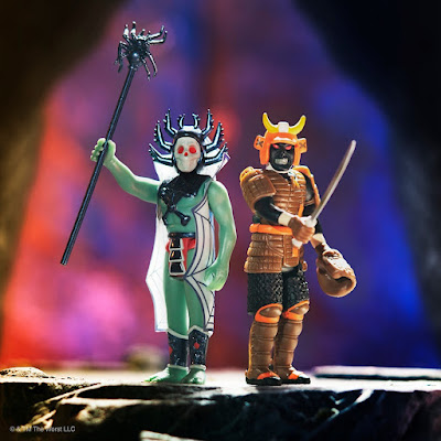 The Worst ReAction Series 3 King Hell & Killer Bat Action Figures by Super7