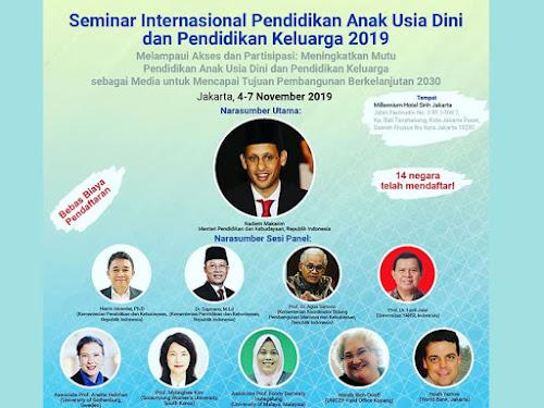 Seminar Internasional PAUD Dikmas 2019
