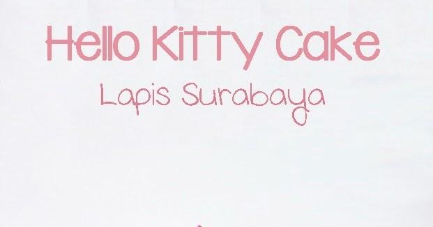 Welcome To Teawe S Blog Hello Kity Cake
