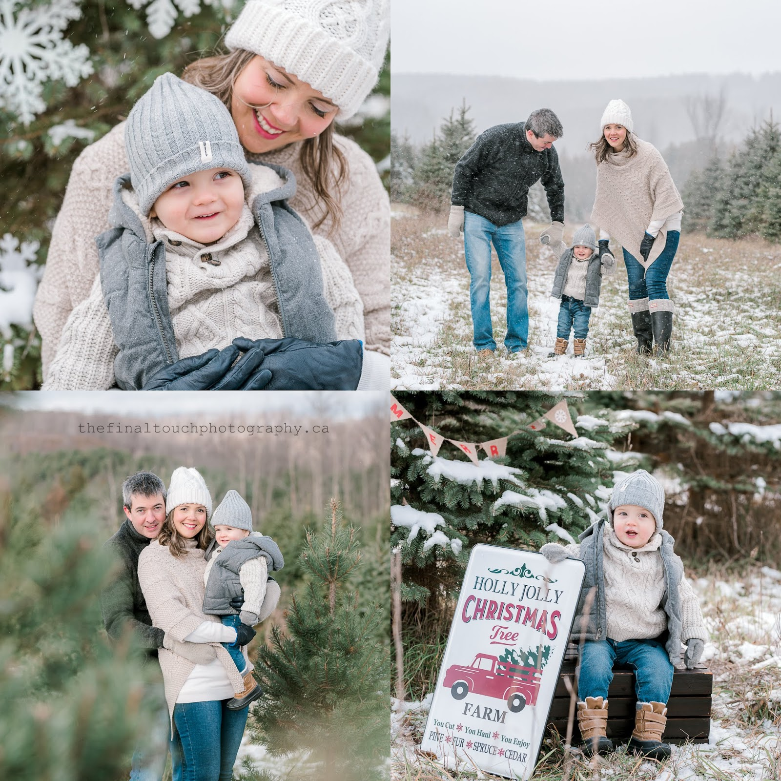 christmas mini session caledon