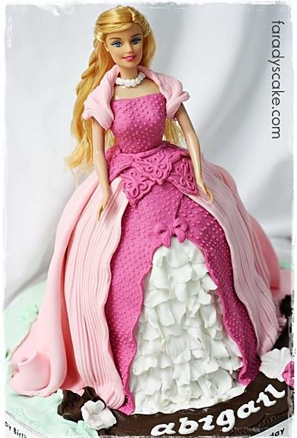 Vintage Barbie Cake Ideas