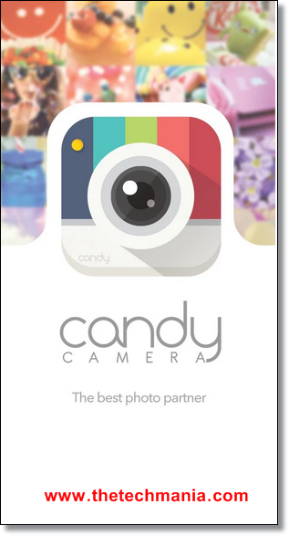 Free Download Candy Camera For PC/Laptop Windows XP 7 8 And