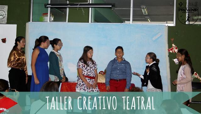 taller teatro creativo niños