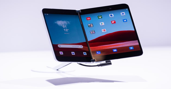 Microsoft Launches Surface Duo 'Communication Device' 2020