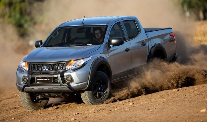 L200 Triton Sport Outdoor traz elementos exclusivos e o DNA 4x4 da Mitsubishi Motors