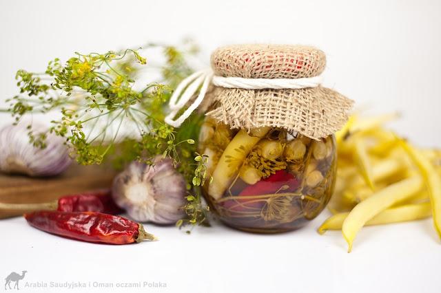 Fasolka szparagowa na zimę - kiszona i konserwowa