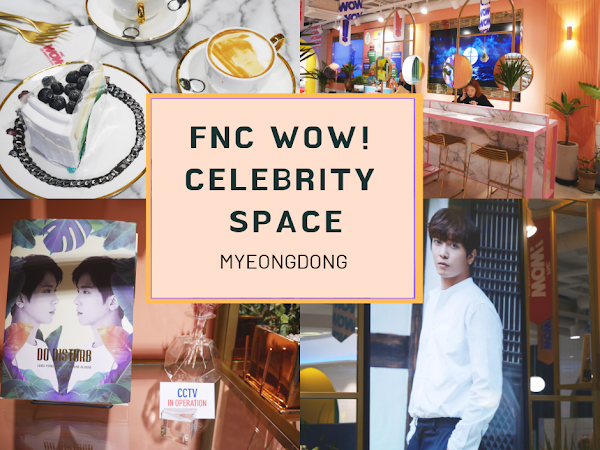 가자 Korea Diary 14: FNC Wow! Celebrity Space @ Myeongdong
