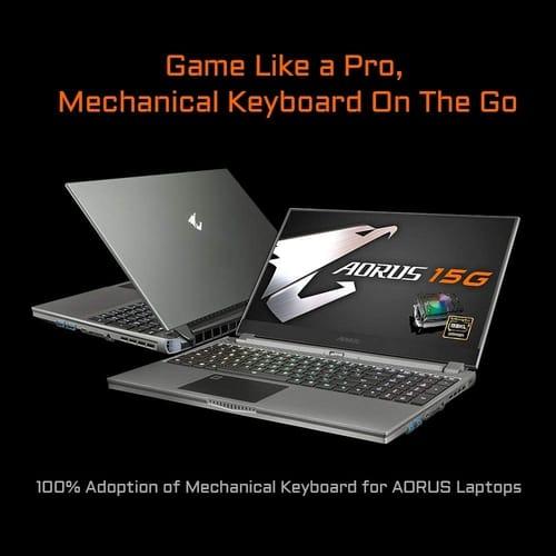 Review Gigabyte AORUS 15G XB-8US2130MP FHD Gaming Laptop