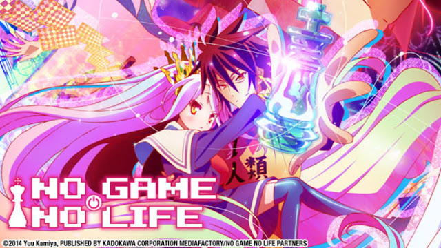 No Game No Life BD : (Episode 01 – 12 END) Subtitle Indonesia