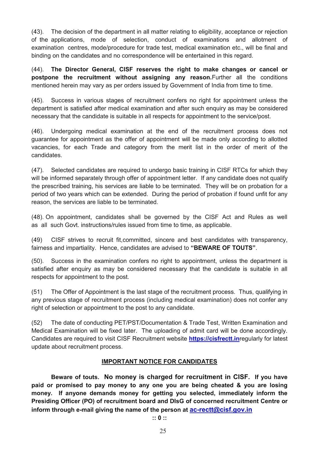 Notification-CISF-Constable-Tradesmen-Posts_25