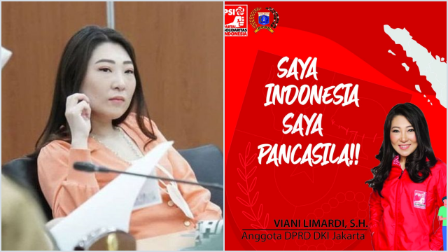 PSI Pecat Anggota DPRD DKI Viani Limardi karena Rutin Gelembungkan Dana Reses