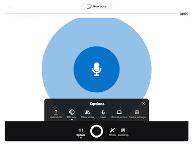 mic%2Bonly%2Bflipgrid Three Good Tools for Recording and Publishing Audio Conversations