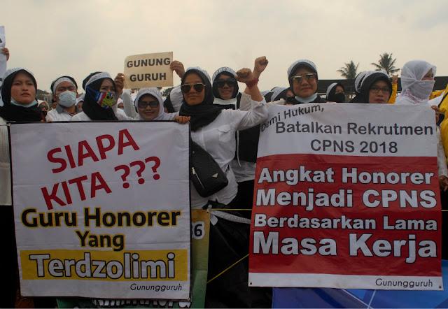 Anggota DPR Komisi II Dukung Penuh Perjuangan Honorer K-2 Jadi CPNS